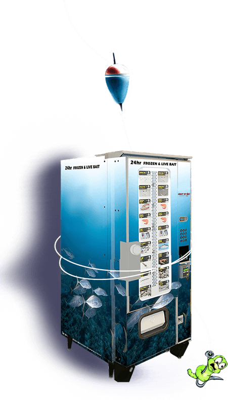 bait and tackle vending machine